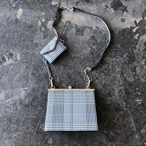 Zara Plaid Bag